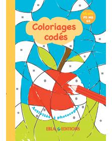 Coloriages codés 3/6 ans